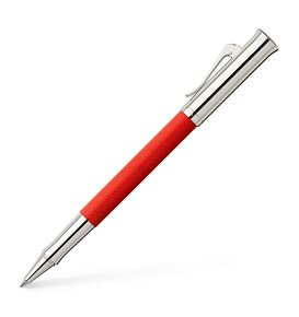 Graf-von-Faber-Castell - Roller Guilloche India Red